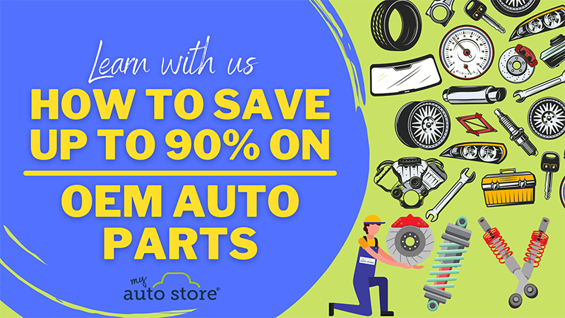 How to save up to 90% on OEM auto parts